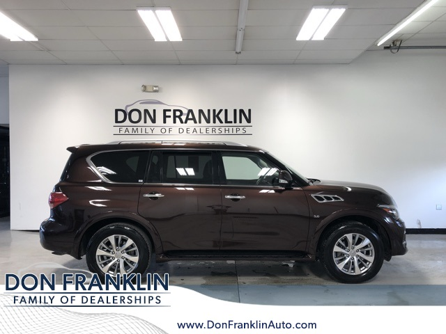 Pre Owned 2017 Infiniti Qx80 Base